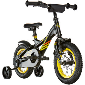 s'cool XXlite 12 Acier Enfant, black/yellow